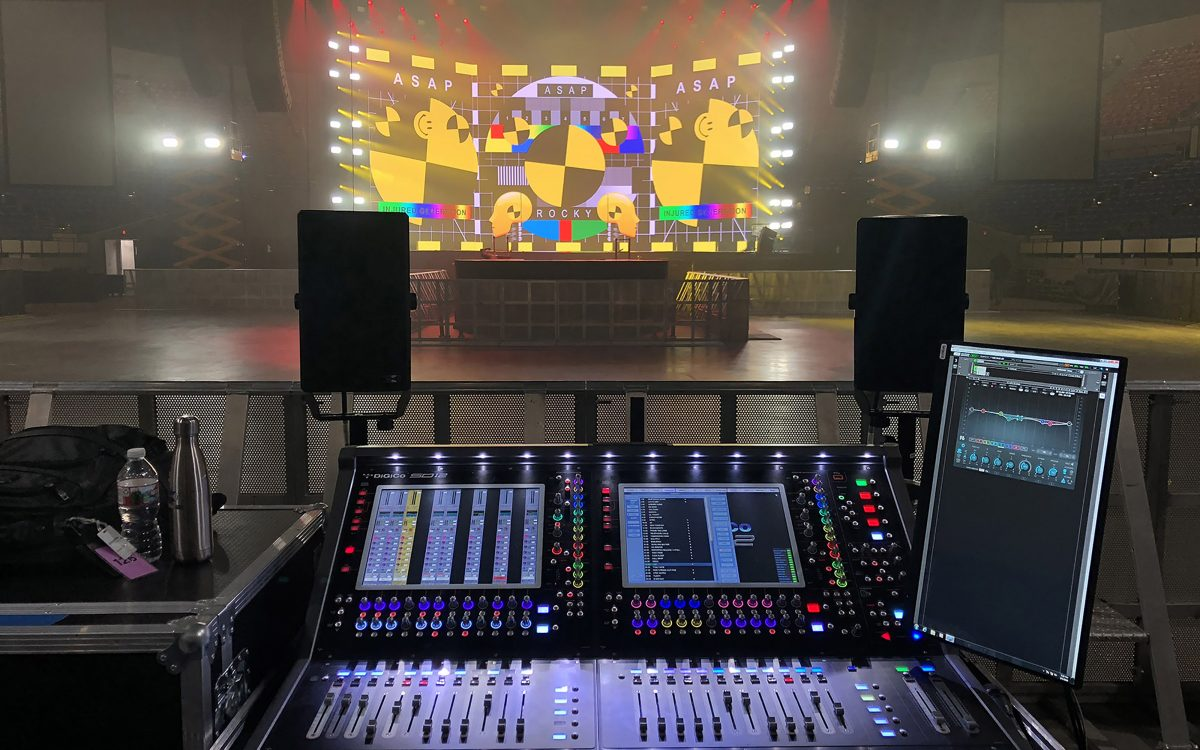 DiGiCo Desks Pass Testing with Flying Colors on A$AP Rocky's Injured Generation Tour