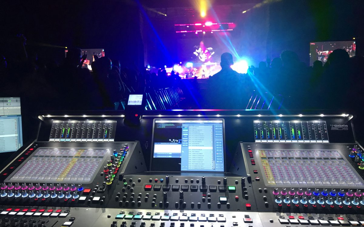 DiGiCo SD5 Makes Music With Vetusta Morla