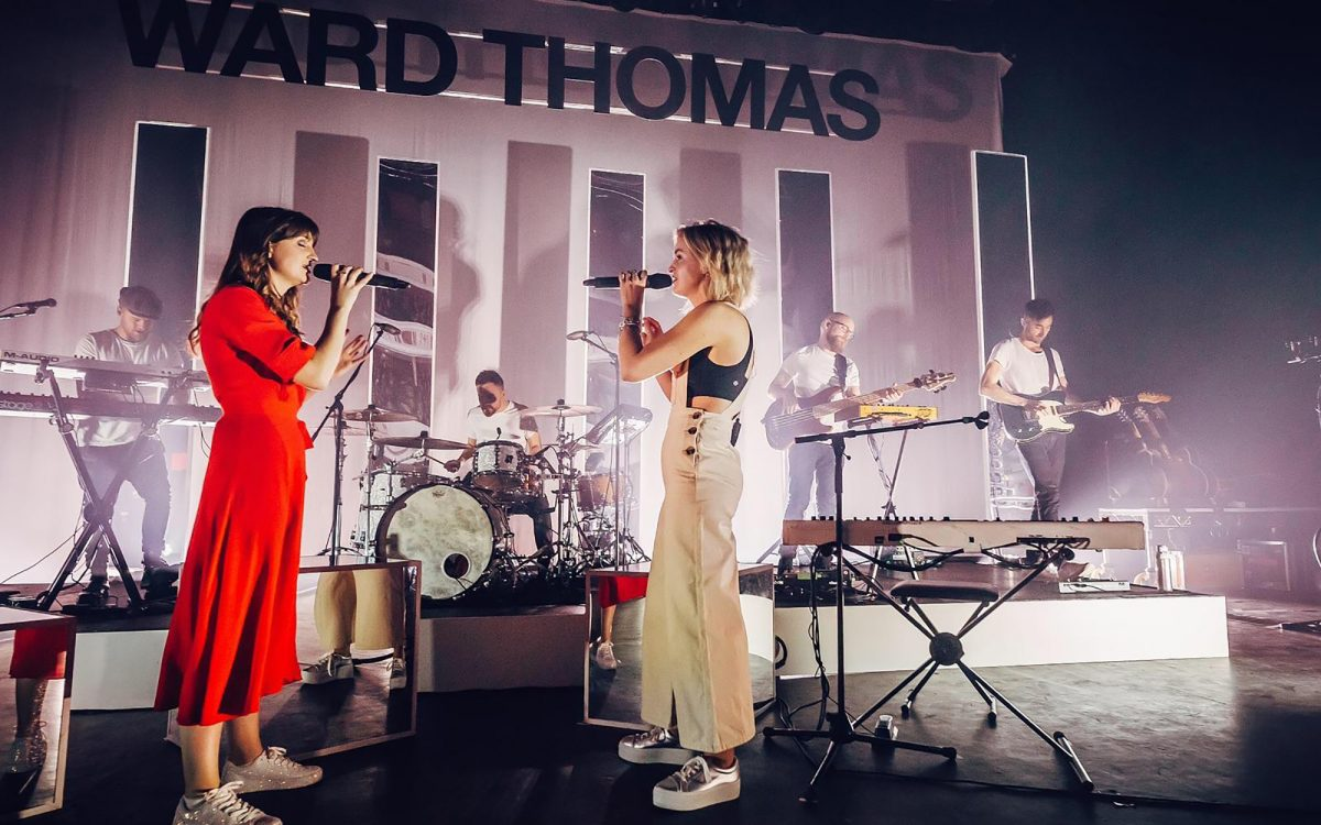 SD12 perfectly compact choice for Ward Thomas tour