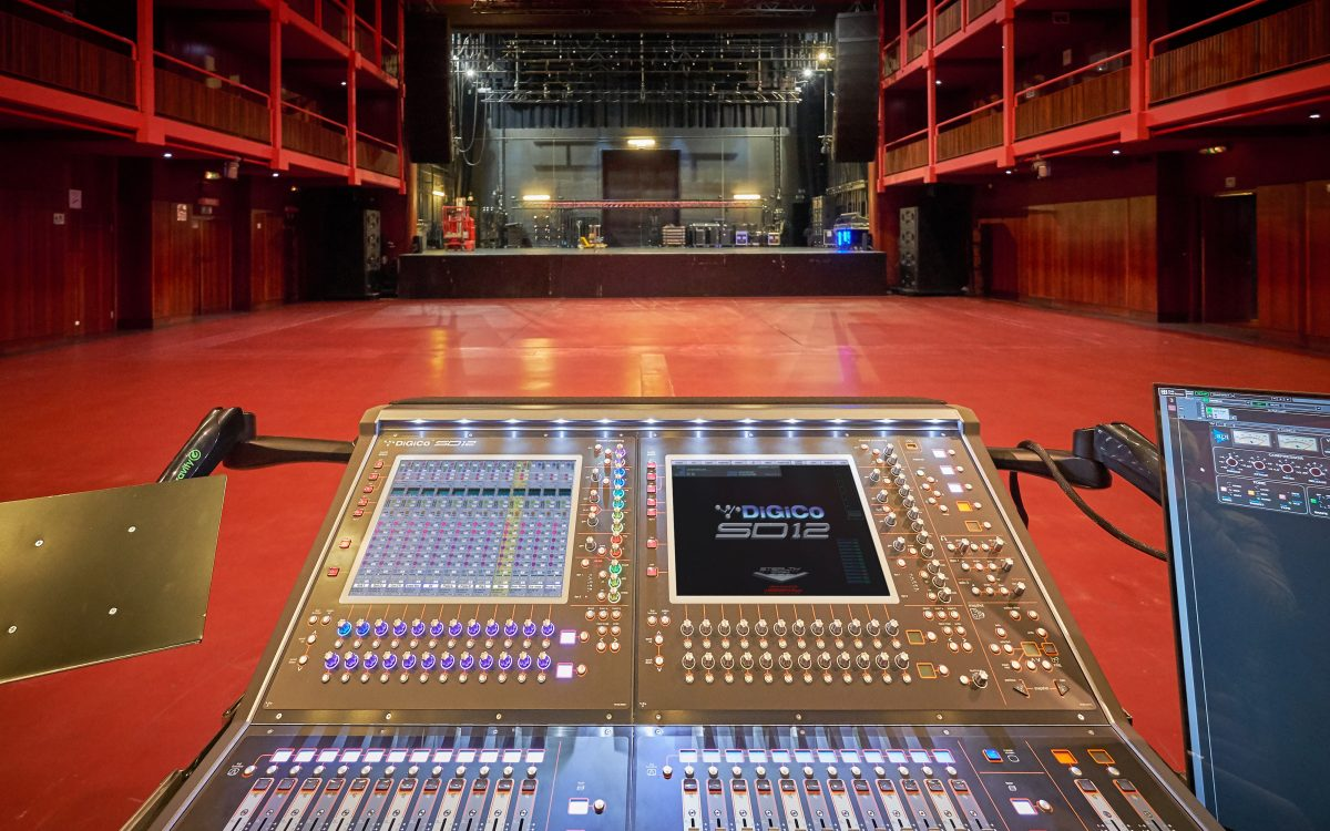 Ancienne Belgique stays versatile with DiGiCo