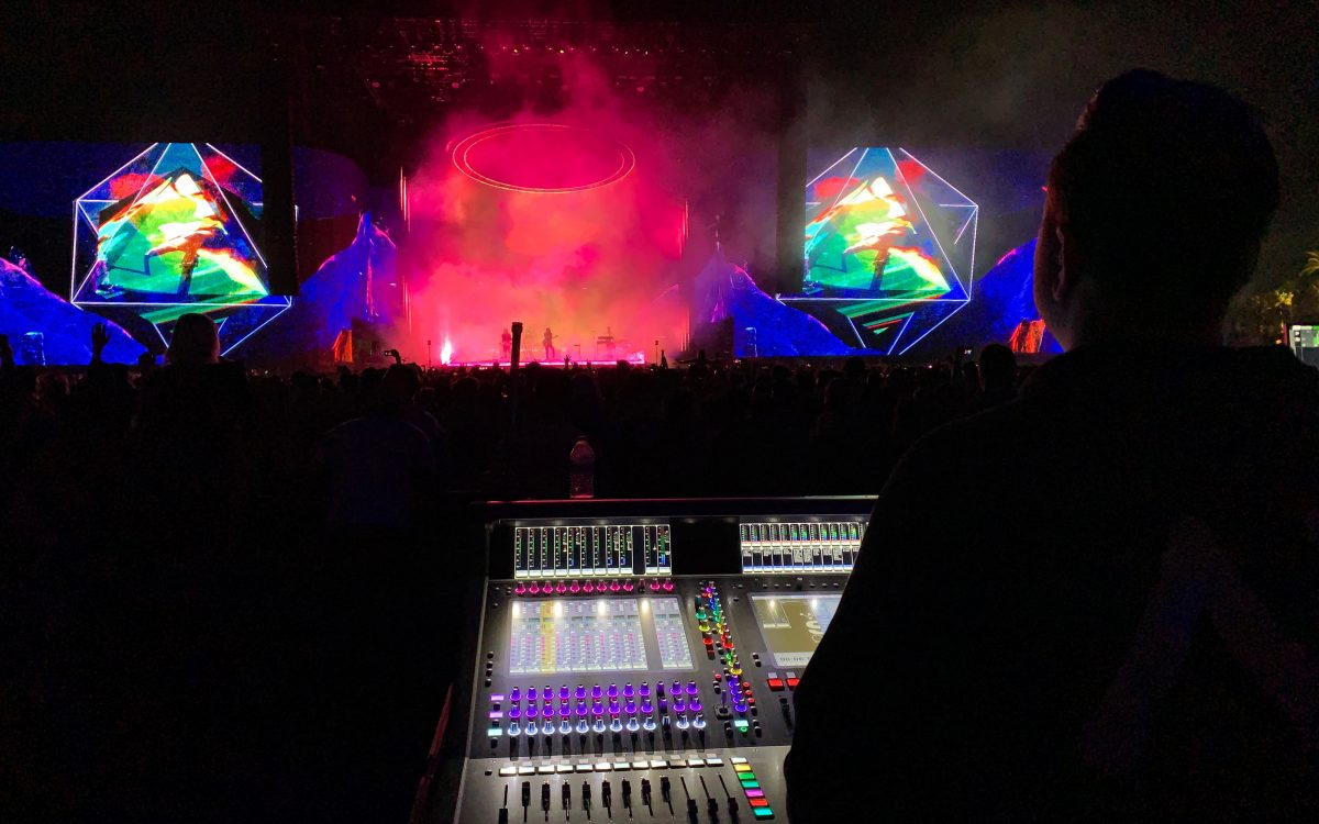 DiGiCo Celebrates Coachella's 20th Anniversary in Style