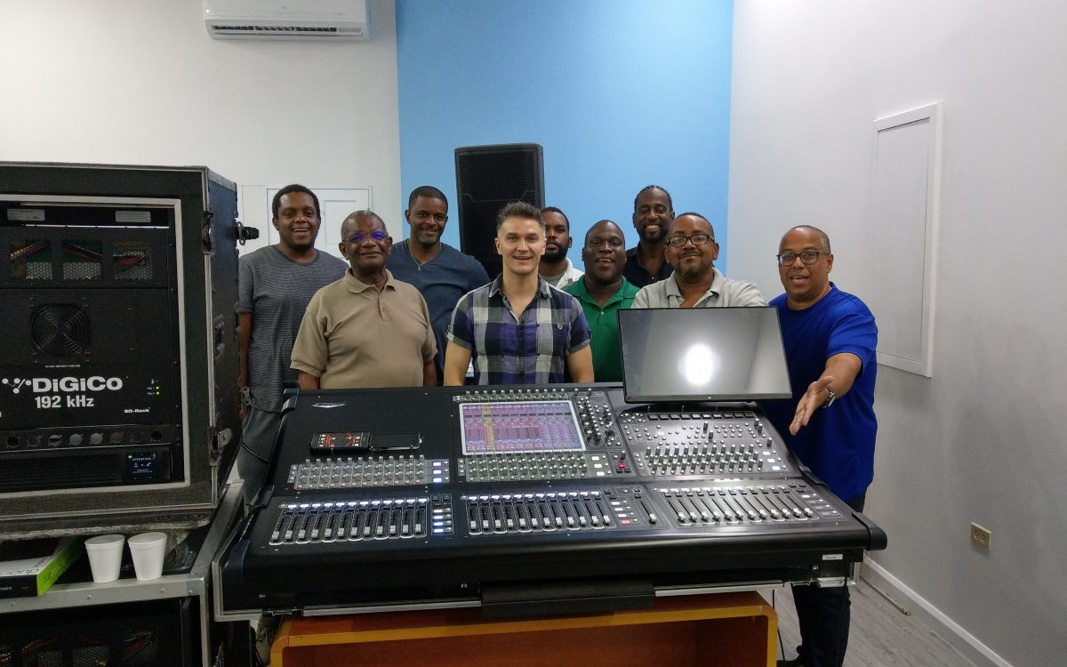 DiGiCo Lands in Trinidad & Tobago