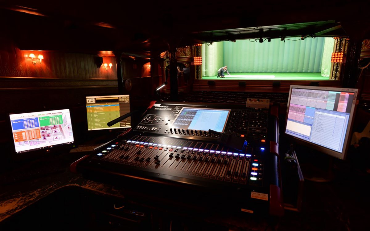 DiGiCo SD9T Delivers Audio Fidelity For Historic East London Theatre