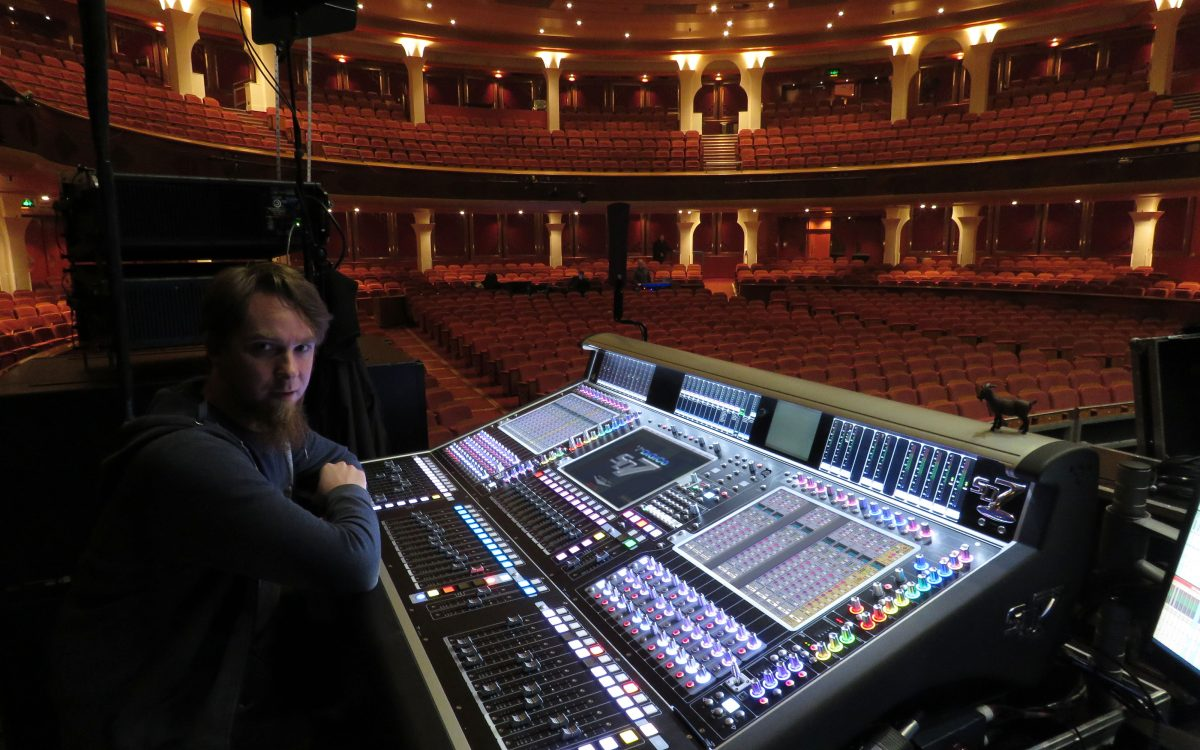 DiGiCo Shines On Alfie Boe UK Tour