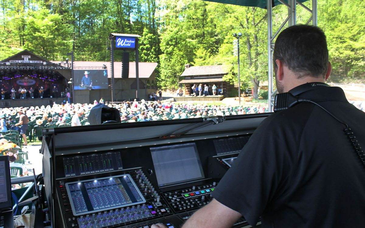 MerleFest 2019 Doesn't Miss a Beat with DiGiCo
