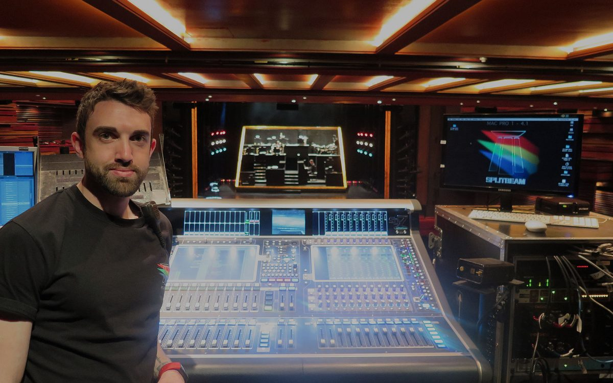 Splitbean invests in the best and takes DiGiCo SD7T out on Chicago Touring Production