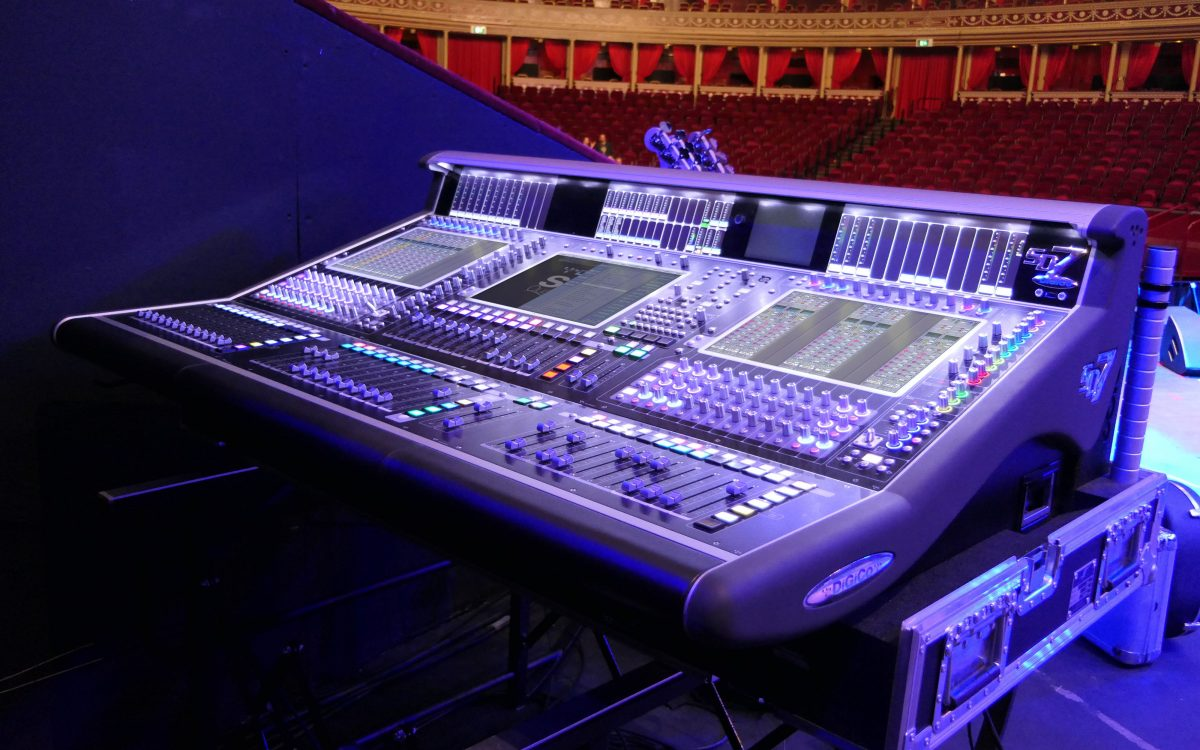 Power, control and backup – DiGiCo and Autograph a perfect partnership for the Royal Albert Hall