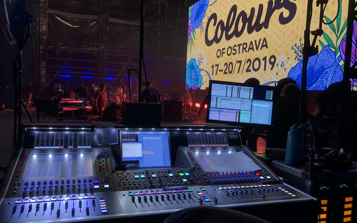 DiGiCo mixes all the Colours of Ostrava