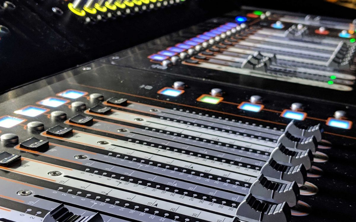 Confetti fires with supercharged DiGiCo engines