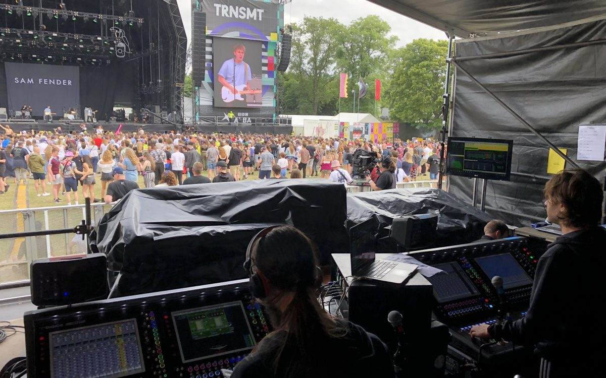DiGiCo SD12s make their mark at TRNSMT