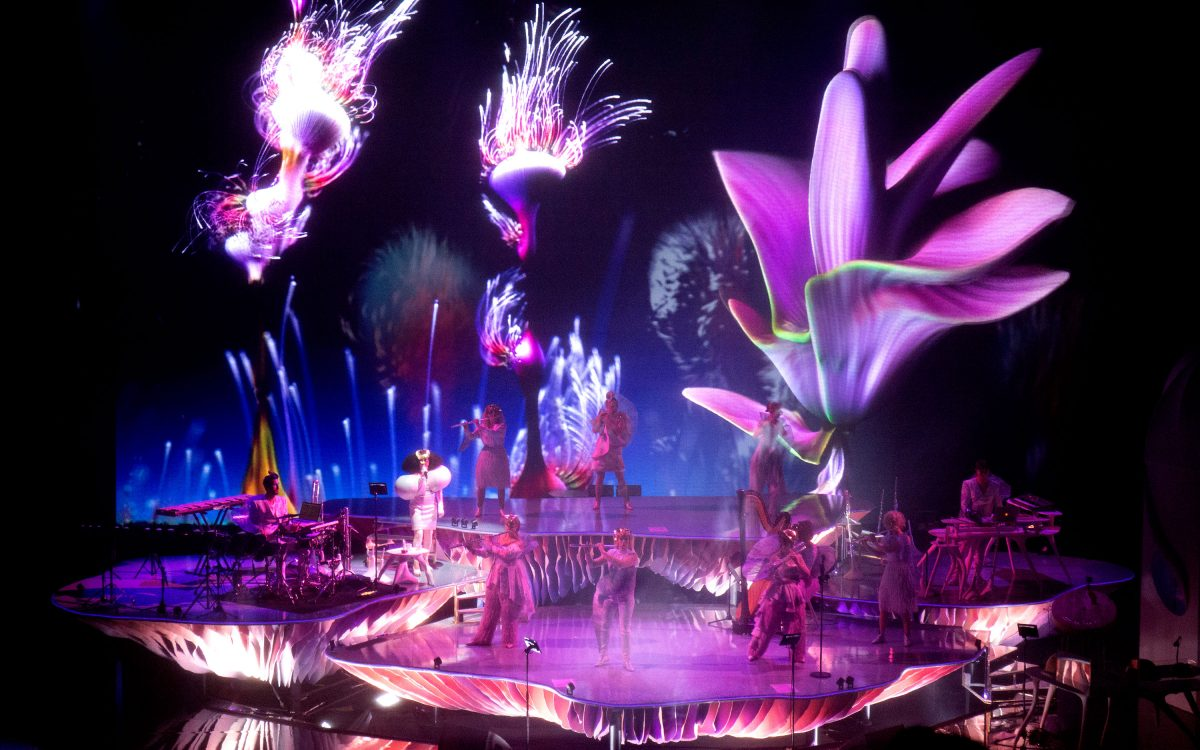 Bjork's Cornucopia  An extraordinary 360-degree experience powered by DiGiCo's Quantum 7