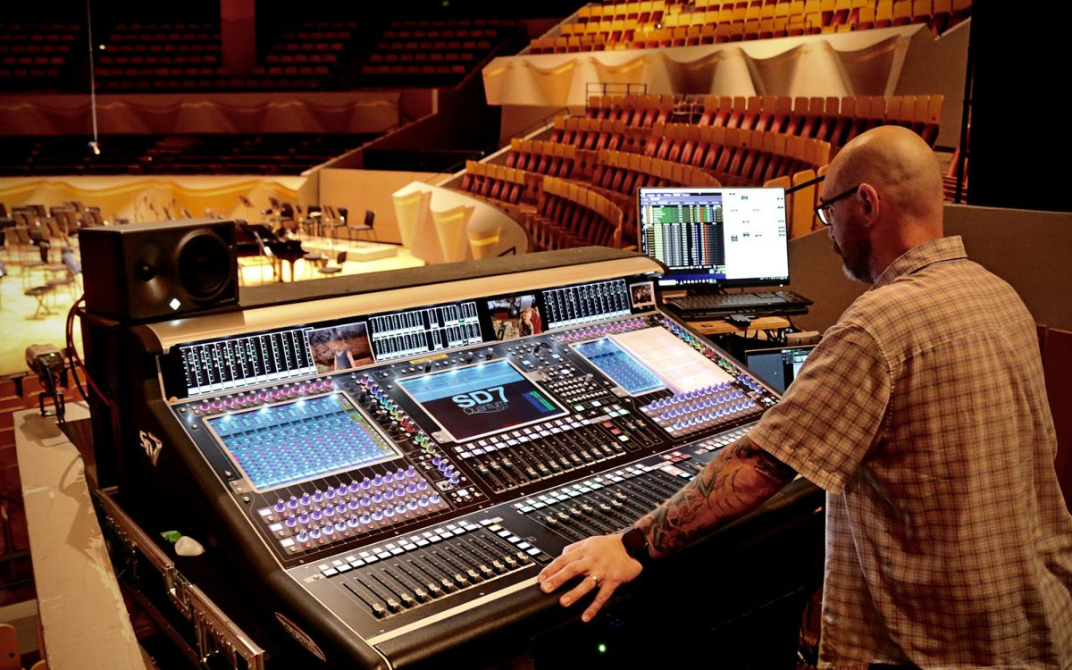 Colorado Symphony Conducts a DiGiCo Quantum 7 Upgrade