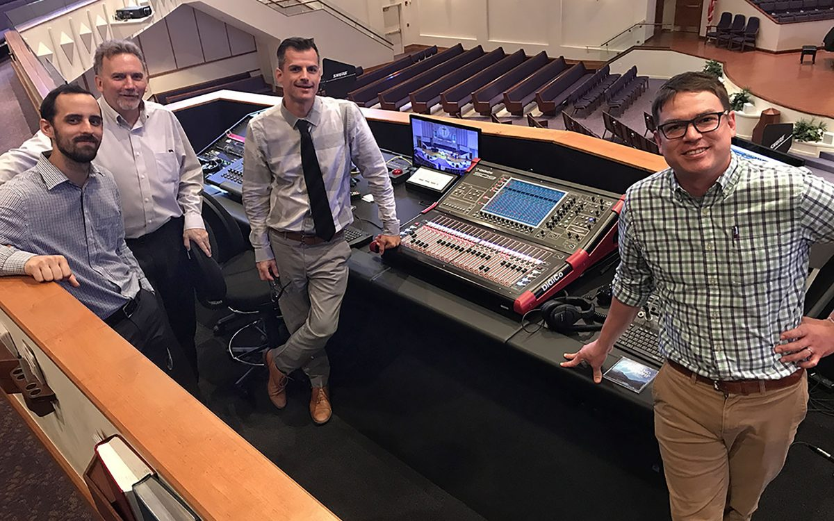 First Presbyterian Church Bonita Springs Adopts Beautiful DiGiCo SD9 Console Pair