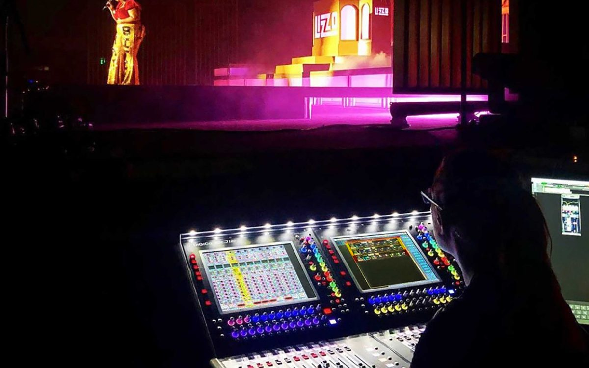 Lizzo: Millions Of YouTube Views, Eight Grammy Award Nominations, and Two DiGiCo Consoles