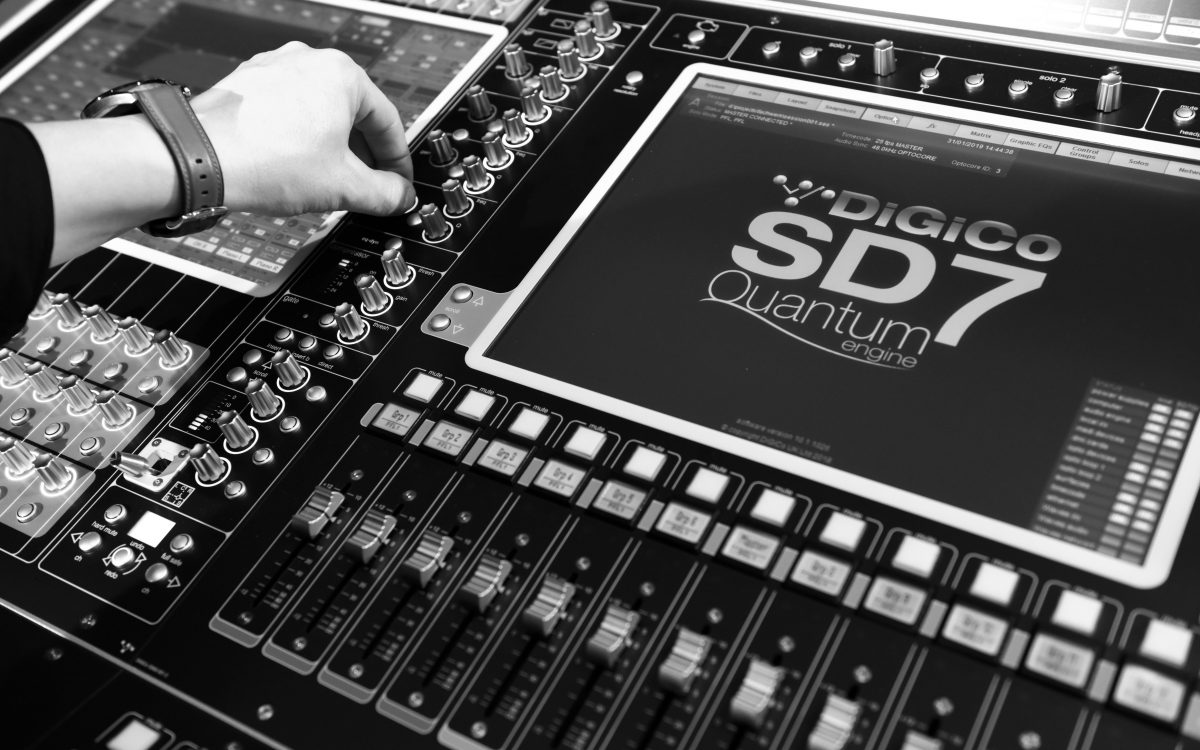 Key – supplier invests in first DiGiCo SD7 Quantum for Germany