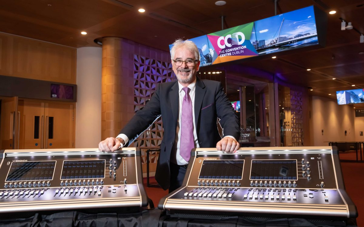 DiGiCo S21 – a five-star console for a five-star venue