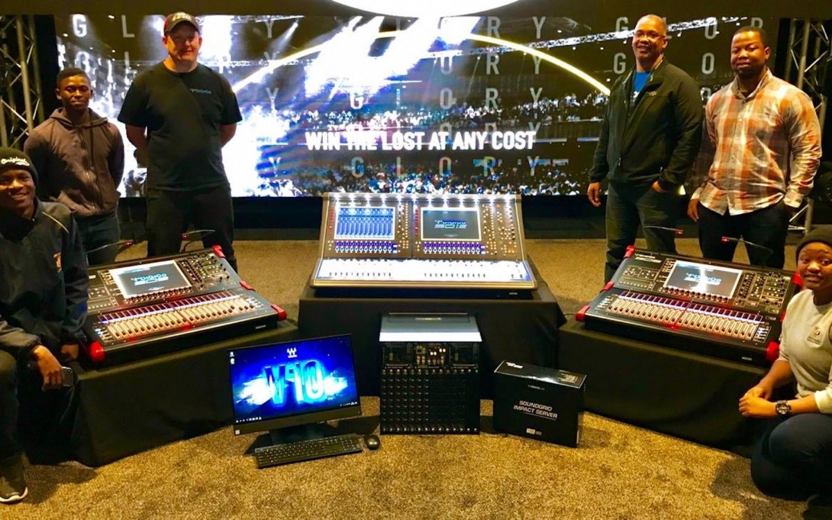 DiGiCo for CRC Bloem