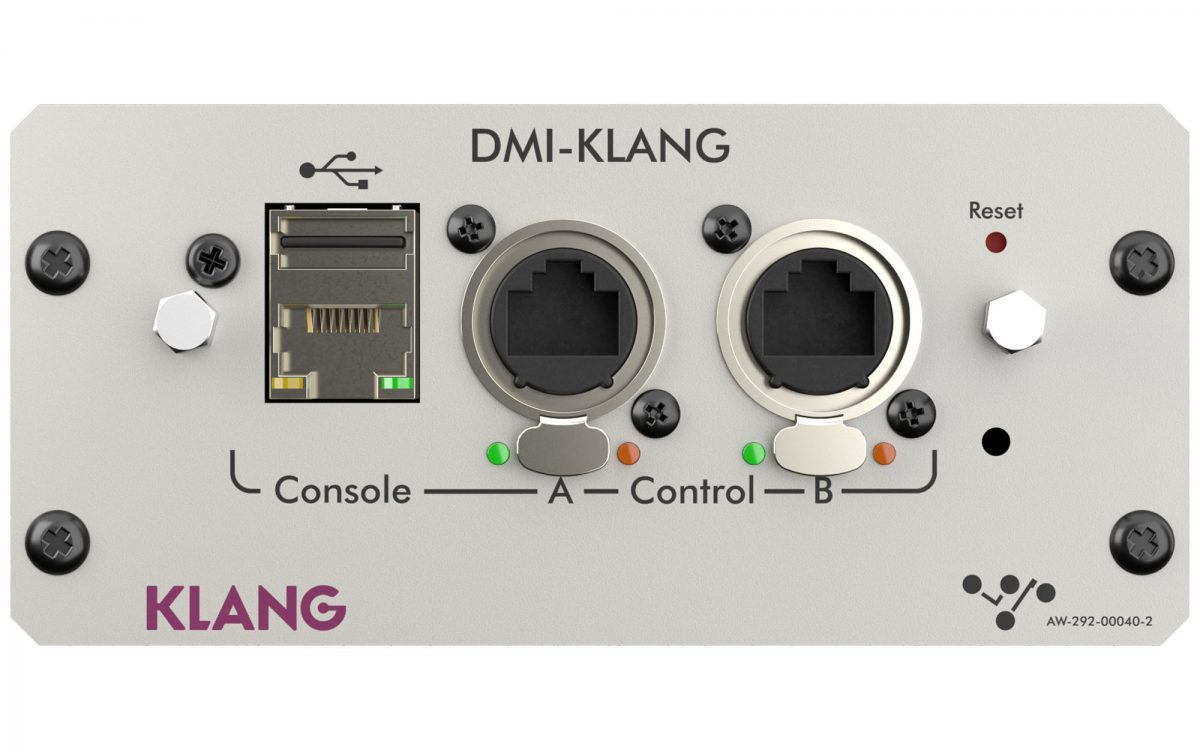 DiGiCo announces the DMI-KLANG at NAMM 2020