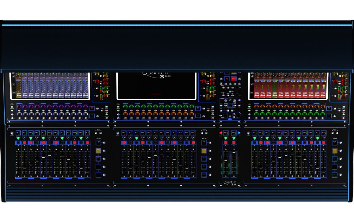 DiGiCo reveals Quantum338 at NAMM 2020