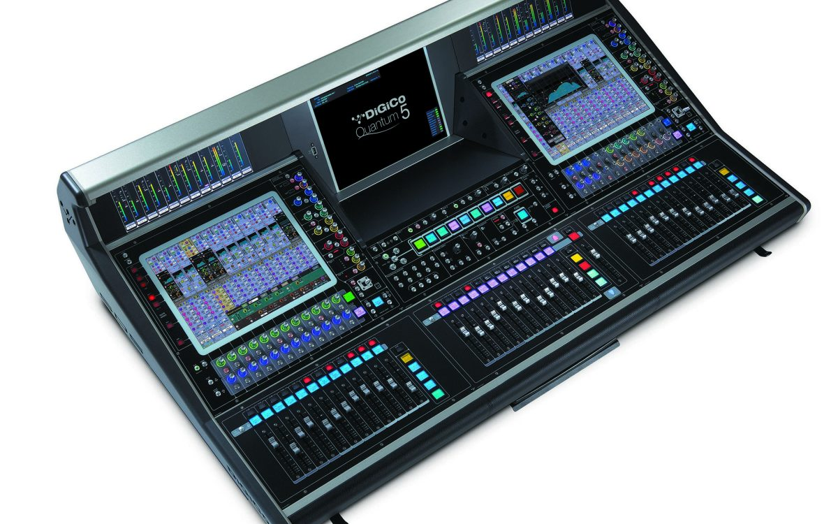 DiGiCo shows new Quantum5 at NAMM 2020
