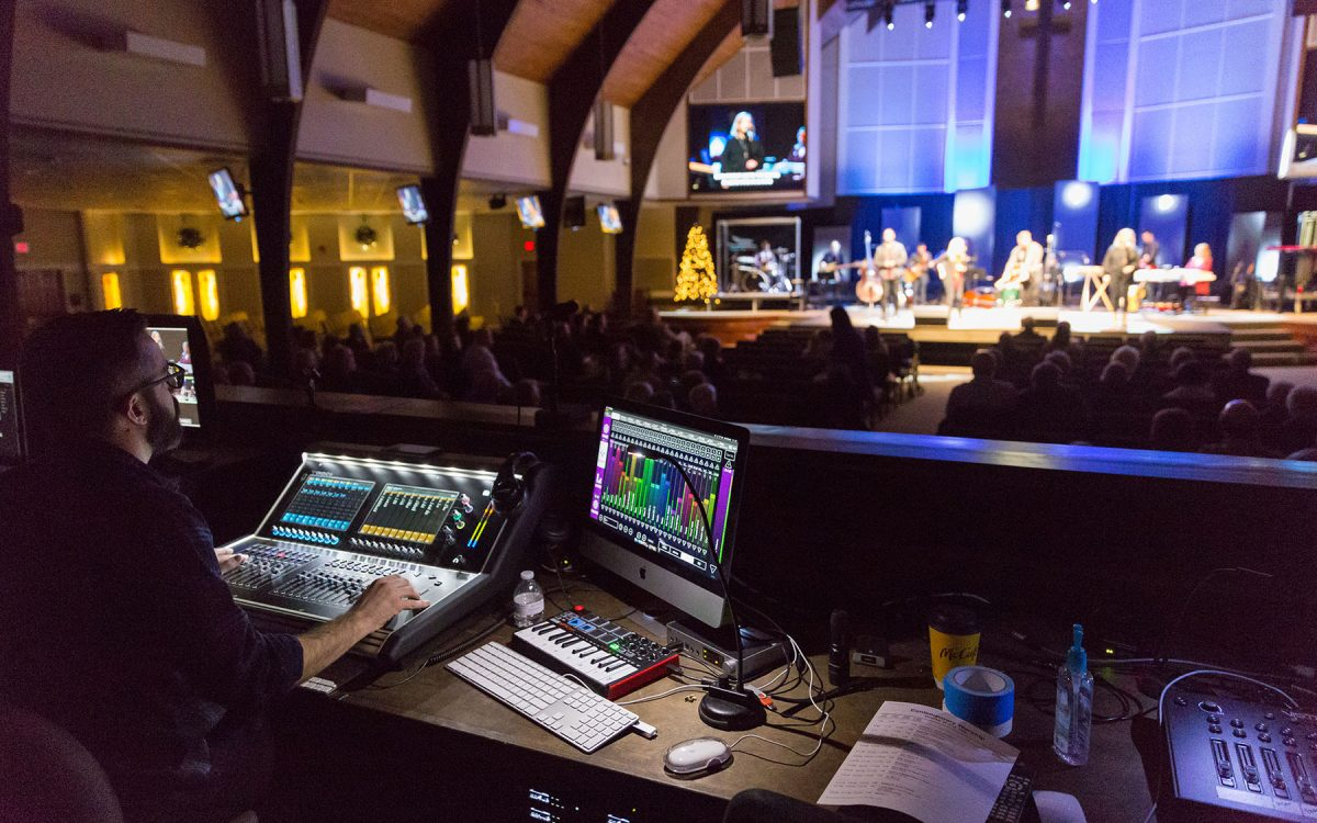 DiGiCo & KLANG Makes a Big Splash at Willowbrook Baptist Church
