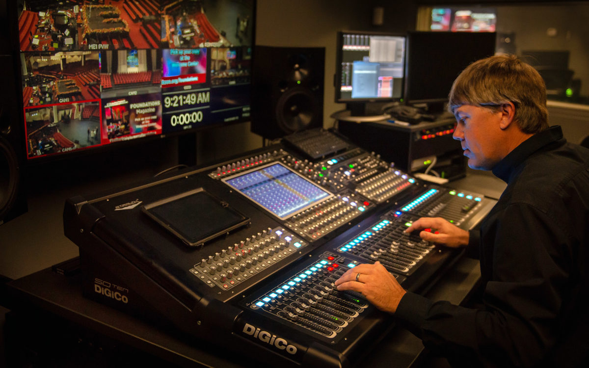 Jackson, Mississippi's First Baptist Church Installs Its Second DiGiCo Console