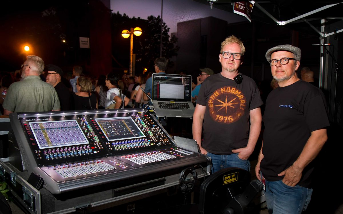 Iconic Finnish engineer Mikko Engberg chooses DiGiCo SD12 for Eppu Normaali
