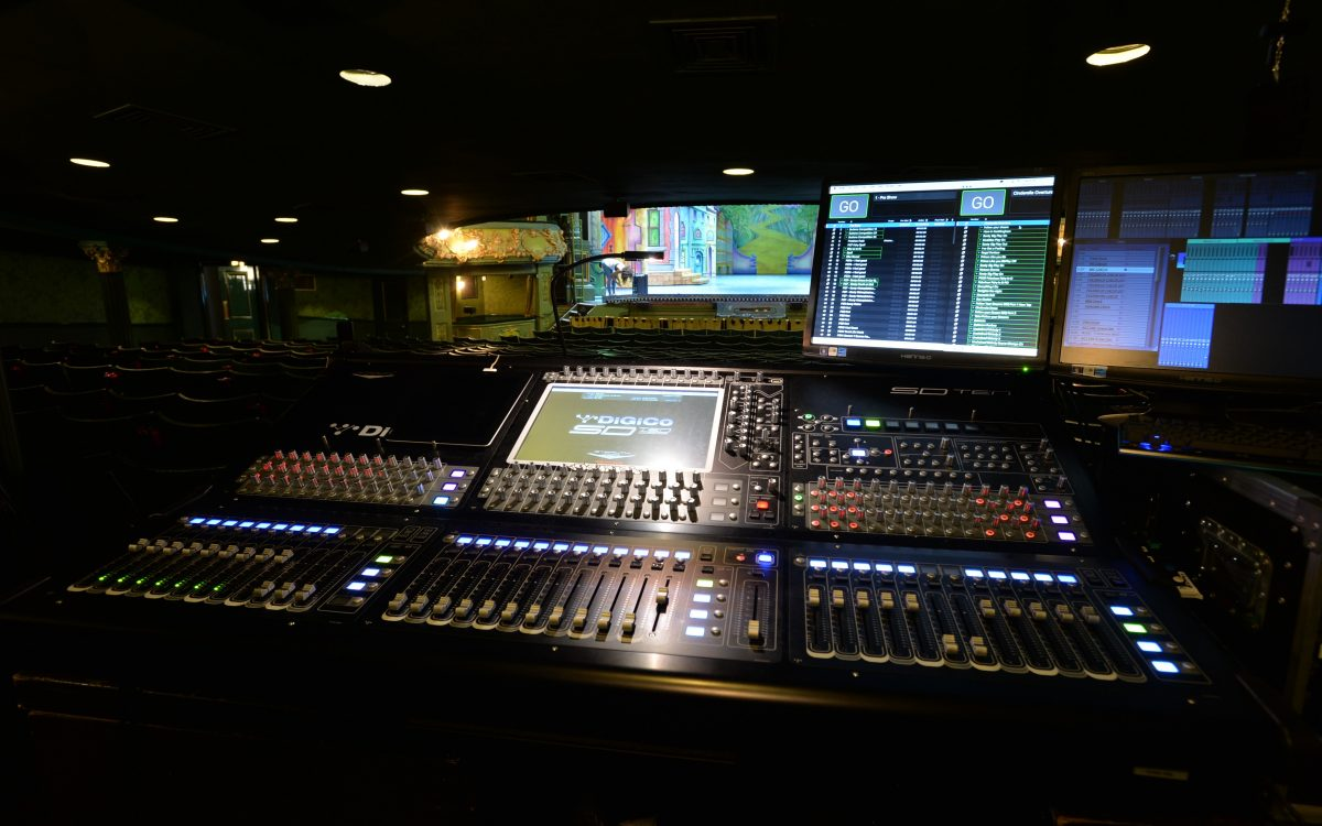Quantum synergy and touring theatre sound with DiGiCo and Autograph