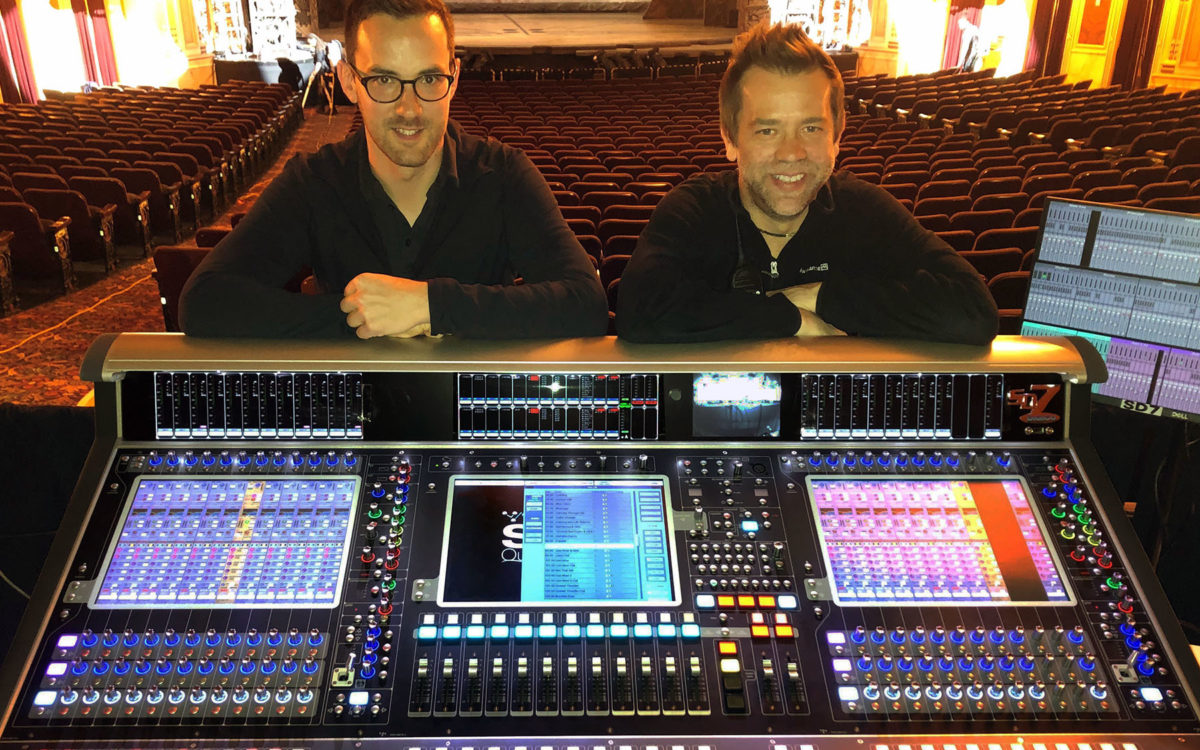 Wicked Takes DiGiCo's Quantum 7T Console For A Ride