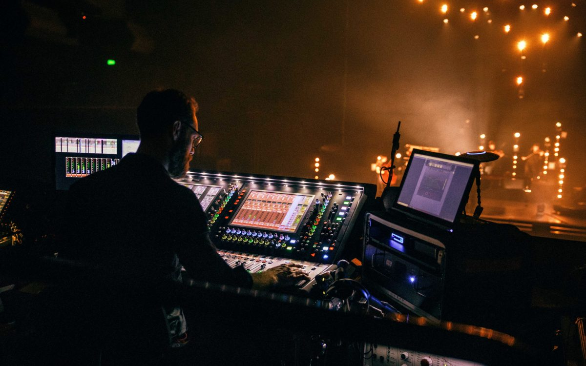 Compact DiGiCo set up for BAFTA-winning composer's masterpiece