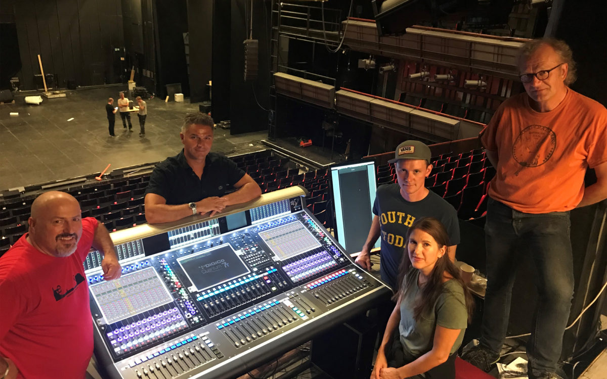 DiGiCo Quantum7T delivers power and flexibility to  Trøndelag Teater