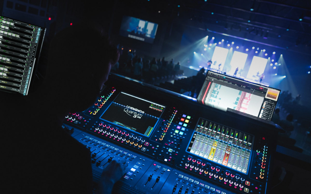Mt. Horeb UMC Becomes First Church to Order DiGiCo's Quantum338 Console