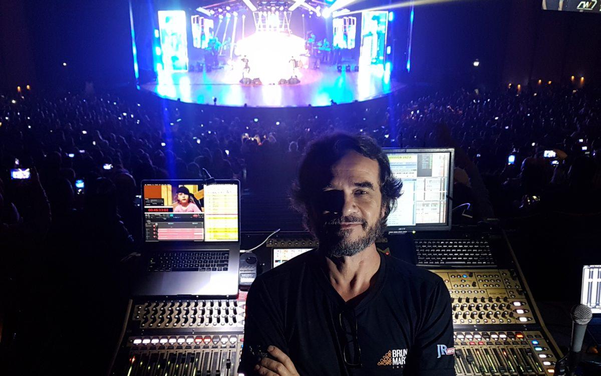 DiGiCo helps Renato Carneiro deliver stunning audio for Brazilian duo's live stream performance
