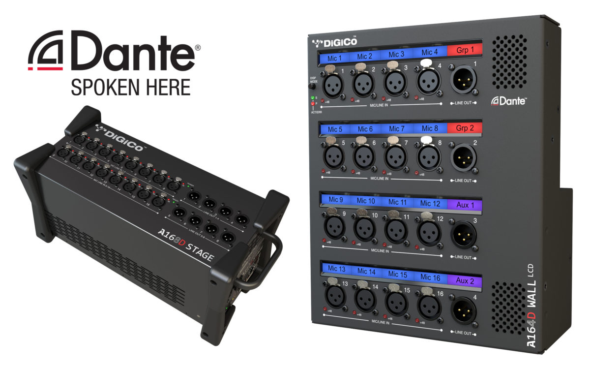 DiGiCo S Series software update delivers multiple new features, including Dante I/O rack and DMI-KLANG compatibility