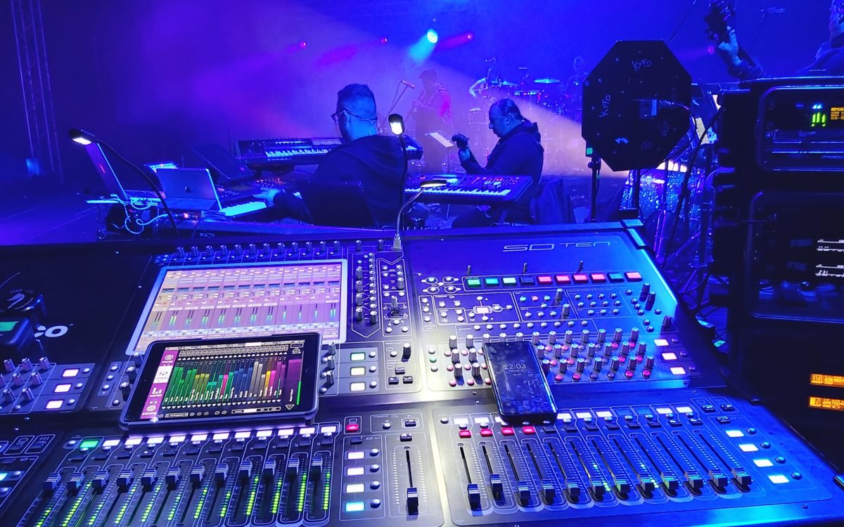 DiGiCo and KLANG take centre stage on Antonis Remos Live Experience Tour 2020