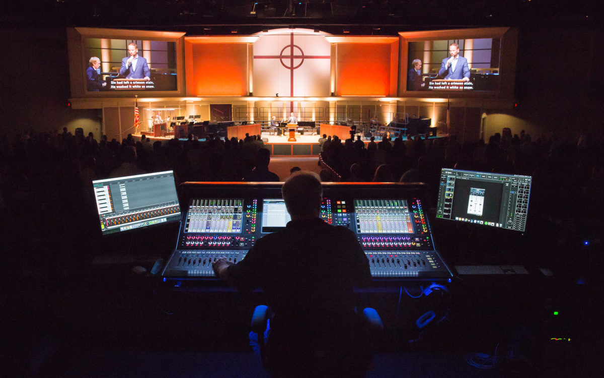 Denton Bible Church Gets Plenty of Inputs and Flexibility with DiGiCo Quantum338 and SD12