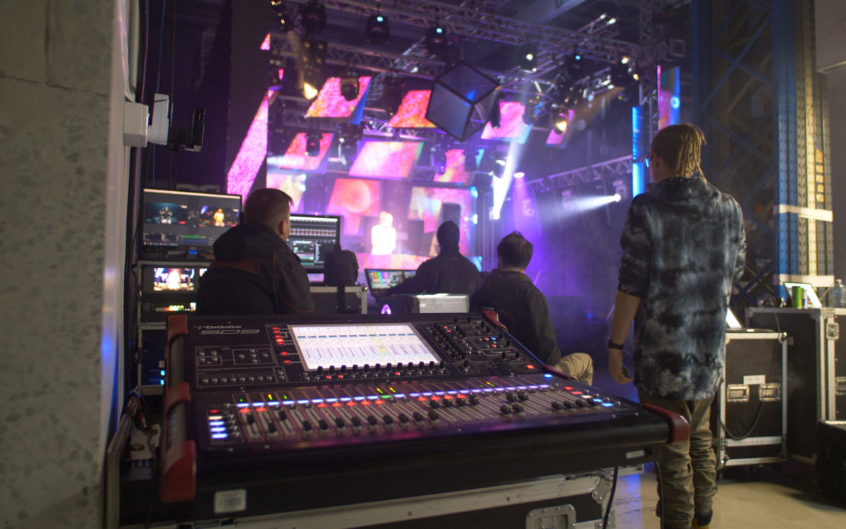 DiGiCo's SD9 makes light work for The Cube