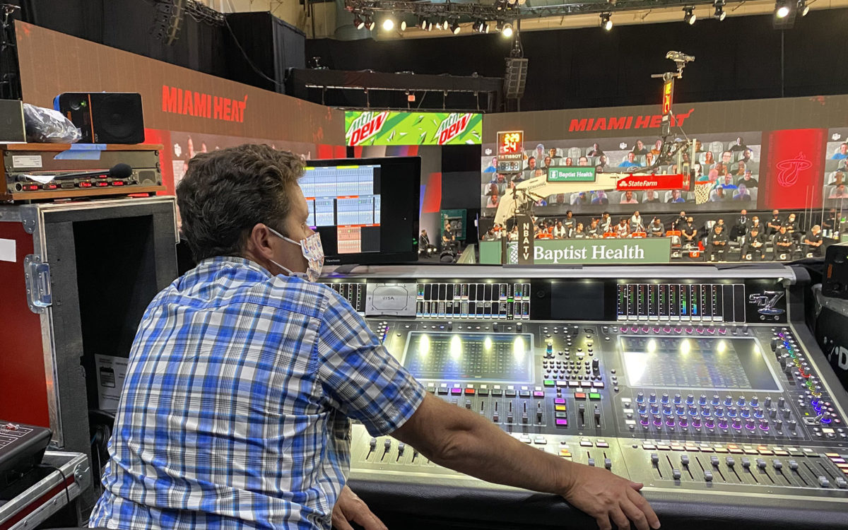 DiGiCo's Quantum7 is the Audio Hub for the NBA's Season Restart
