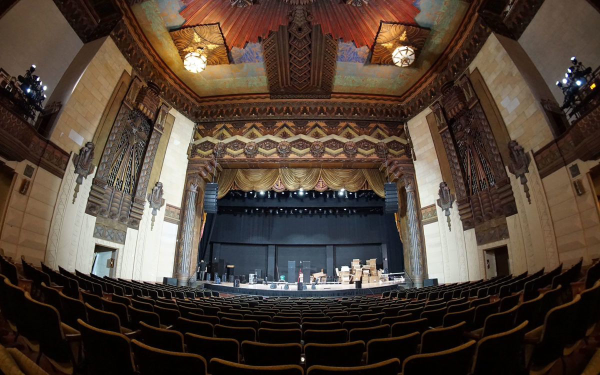 Warner Grand Theatre Gets Grander with Dynamic DiGiCo Duo