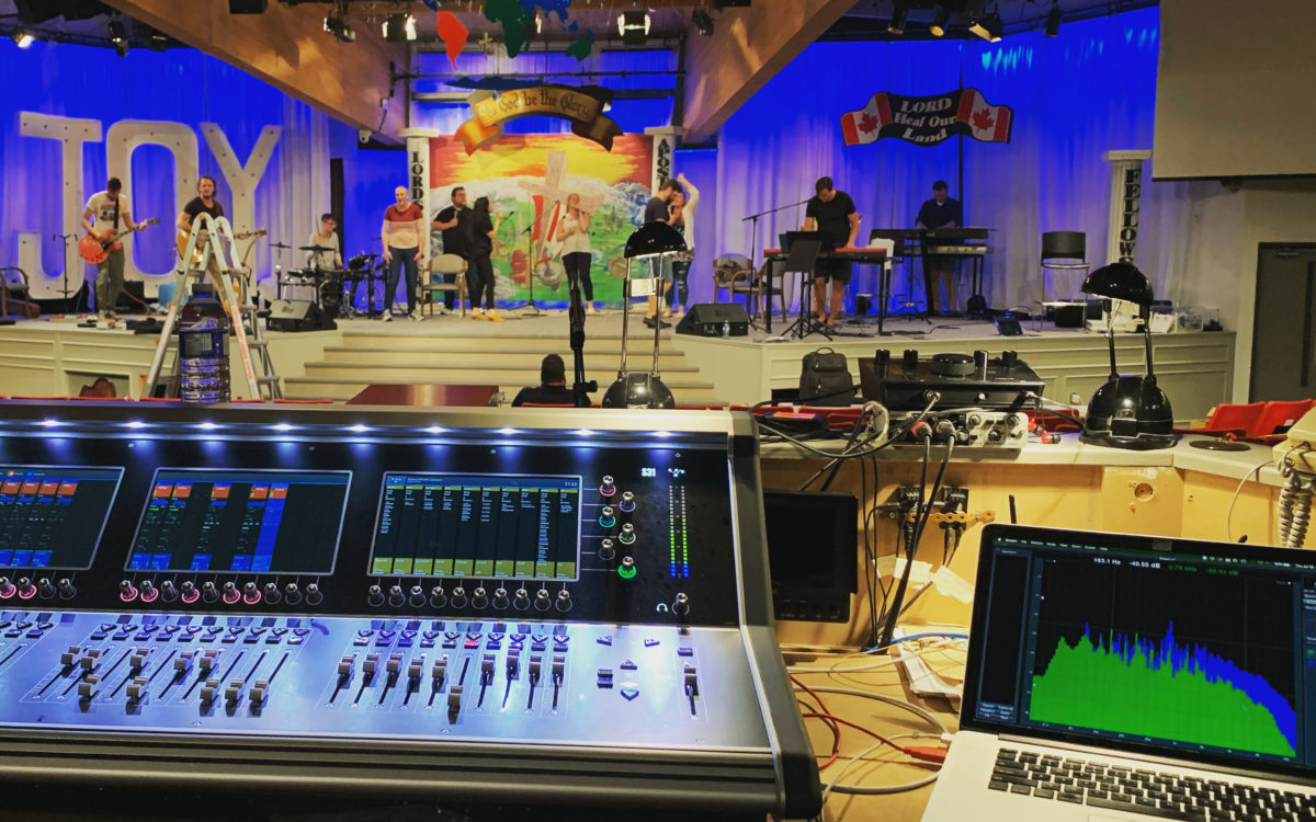 DiGiCo and KLANG capable and cost-effective for  Selwyn Outreach Centre