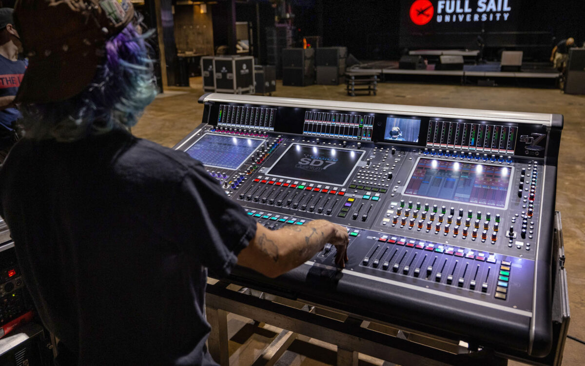 DiGiCo Quantum338 Added to Technology Lineup at Full Sail Live 1