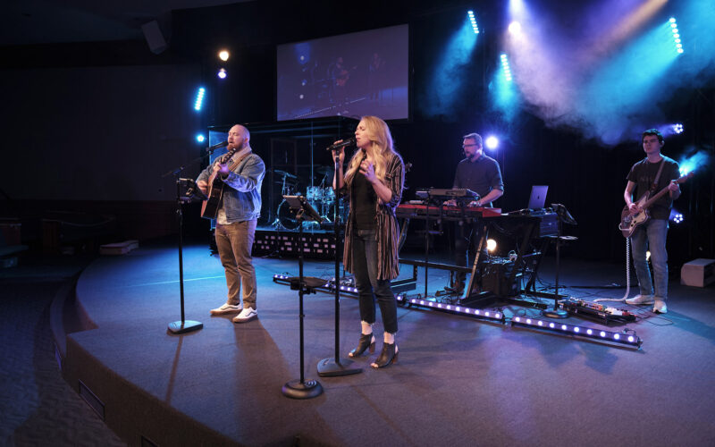 Good News Church's worship team is delighted with the results of switching from mono IEMs to KLANG's immersive solution