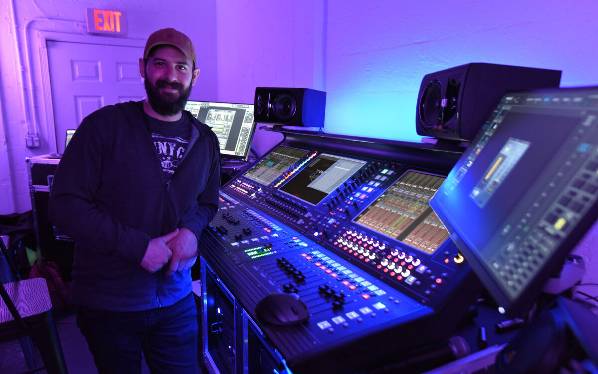 VOUS Church Keeps Up With Exponential Growth On DiGiCo Quantum338