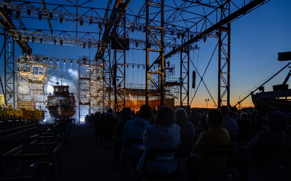 Storms and Salvation Brought to Life by DiGiCo's SD12 for The Flying Dutchman Opera