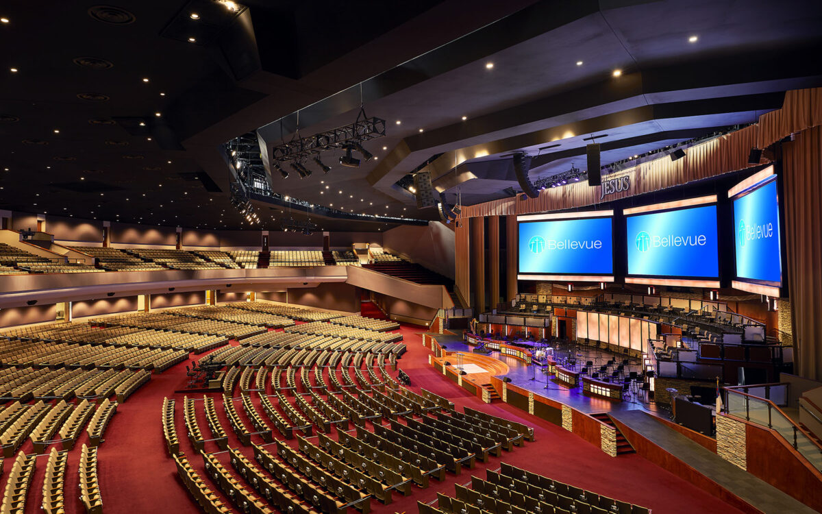 It's DiGiCo Throughout For Bellevue Baptist Church