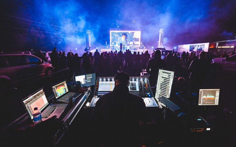 for KING & COUNTRY are currently out on the road with a pair of DiGiCo SD12 96 mixing consoles supplied by tour sound provider Blackhawk Audio