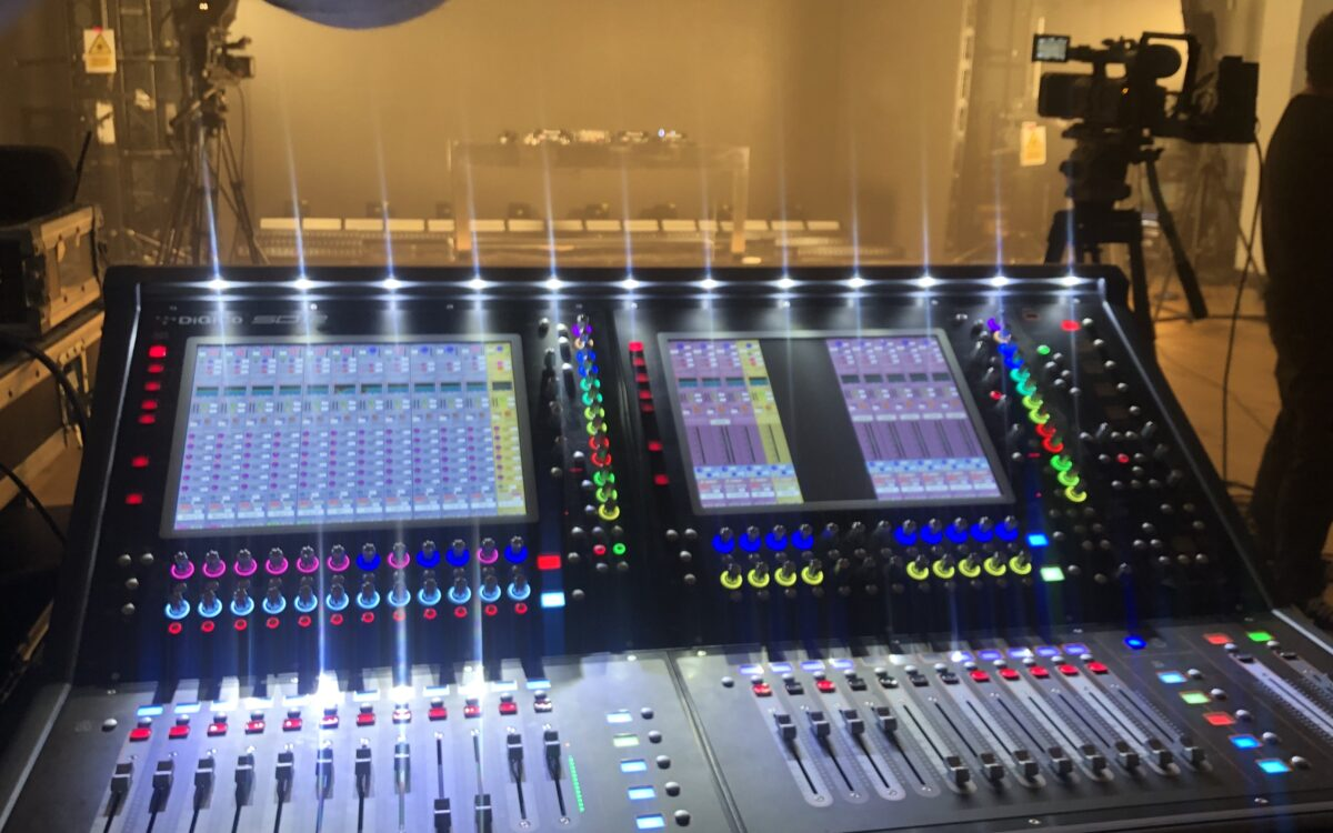 DiGiCo SD12 delivers familiarity and flexibility for Music Bank live streams