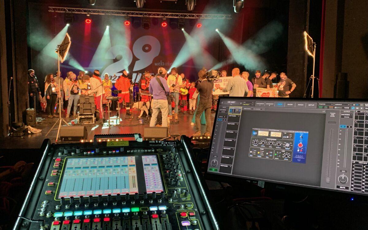 DiGiCo supports WOŚP's 29th Grand Finale Fundraiser