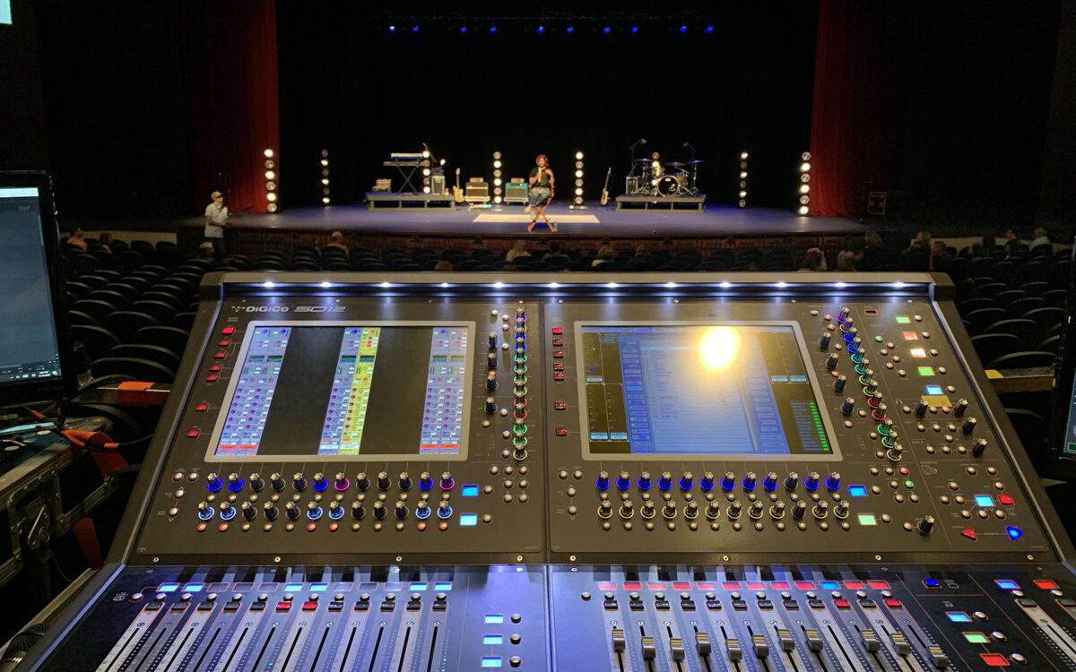 Kim Walker-Smith Tours with Twin DiGiCo SD12 96 Desks