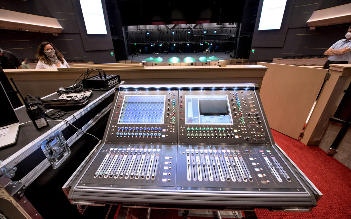 DiGiCo Plays a Major Role at the New Steven Tanger Center for the Performing Arts